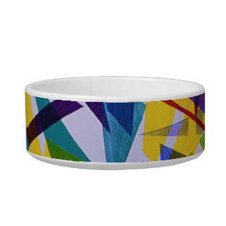 Freedom – Abstract Journey of Liberty Pet Food Bowl