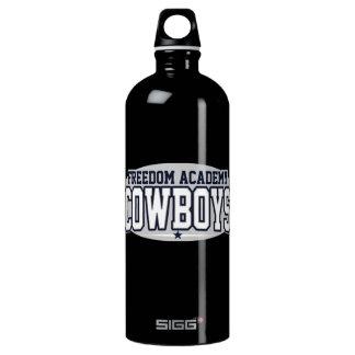 Freedom Academy; Cowboys Aluminum Water Bottle