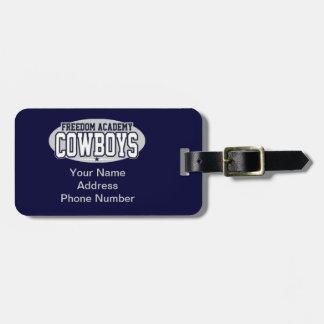Freedom Academy; Cowboys Bag Tag