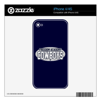 Freedom Academy; Cowboys Decal For The iPhone 4S