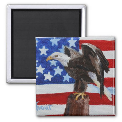 Freedom aceo Magnet magnet