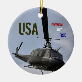 Freedom Ain't Free Ornament