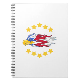 FREEDOM AMERICAN EAGLE SPIRAL NOTE BOOK