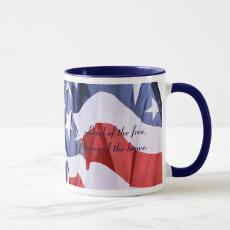 Freedom American Flag Mug