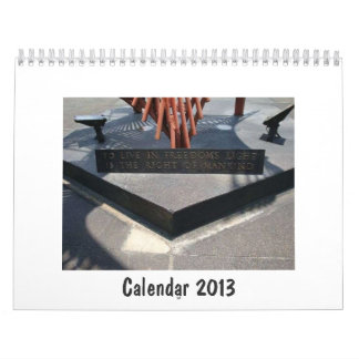 Freedom and Affection Calendar 2013
