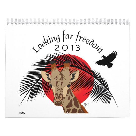 Freedom and Animals Calendar