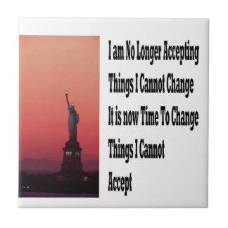 Freedom and liberty tile