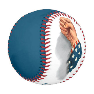 Freedom and Veterans Personalized Baseball