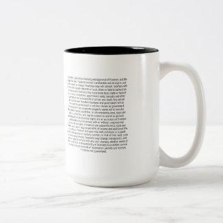 FREEDOM* ASTERISK 36x24 Pro-Liberty Mug