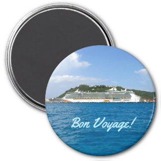 Freedom at Sint Maarten Bon Voyage Magnet