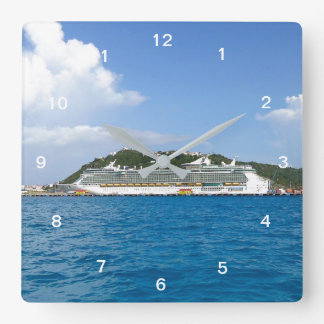 Freedom at Sint Maarten Square Wall Clock