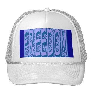 Freedom (bars) Cap Trucker Hat