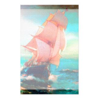 Freedom Bay, Ocean Sailing, Sunrise Stationery