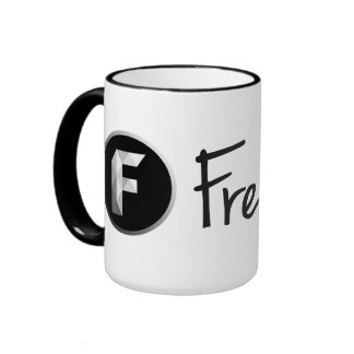 Freedom! - Be free. White Mug