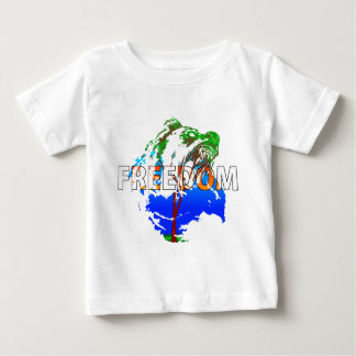 Freedom! Bear Design Baby T-Shirt