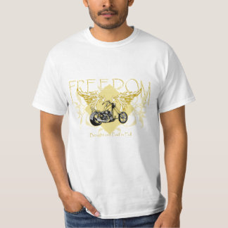Freedom Biker Bought and Paid in Full T-Shirt
