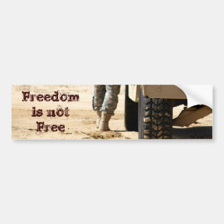 Freedom Boots Bumper Sticker