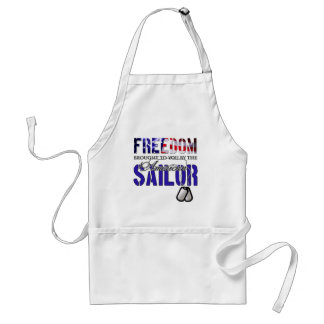 Freedom - Brought to you by the American Sailor Adult Apron