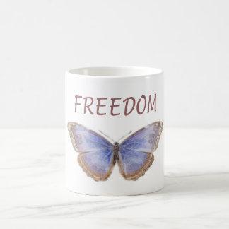 FREEDOM BUTTERLY COFFEE MUG