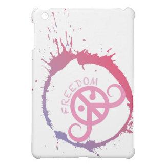 "Freedom case iPad mini ""BarelyThere"" (pink splash) iPad Mini Case"