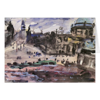 Freedom Castle by Lovis Corinth Greeting Card