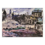 Freedom Castle by Lovis Corinth Greeting Cards