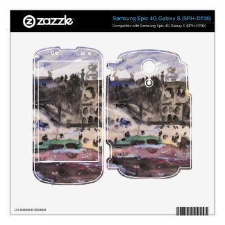 Freedom Castle by Lovis Corinth Samsung Epic Decal
