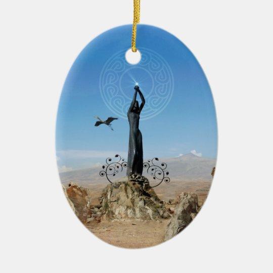 Freedom Ceramic Ornament