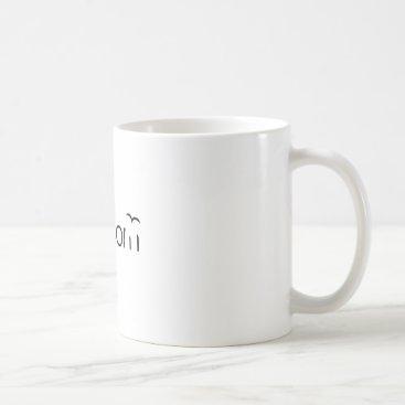 Beach Themed Freedom Coffee Mug