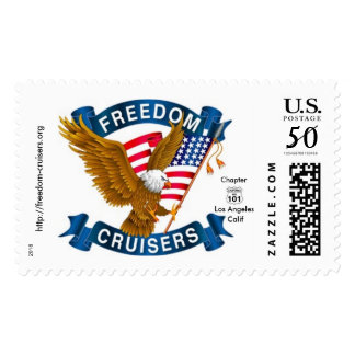 Freedom Cruisers Postage Stamps