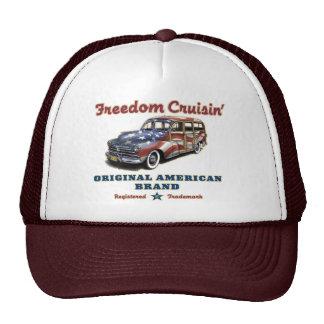 Freedom Cruisin' Trucker Hats