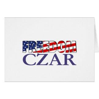 Freedom Czar Card