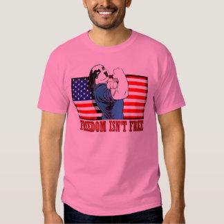 "Freedom Dawg Freedom Isn""t Free Tee Shirt"