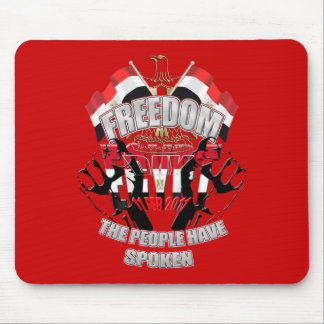 Freedom Day Liberation of Egypt 11 February 2011 Mouse Pad