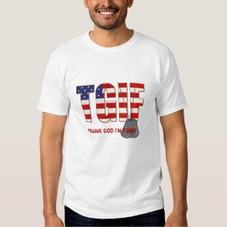 Freedom Dog Tags Tee Shirt
