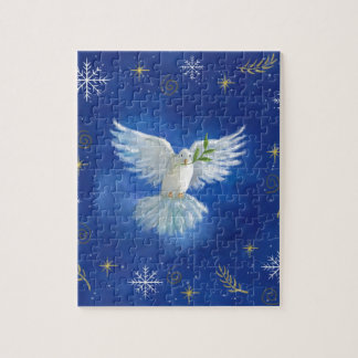 Freedom Dove, peace on earth Jigsaw Puzzle