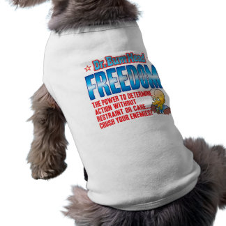 FREEDOM Dr Bum Head Pet Clothing