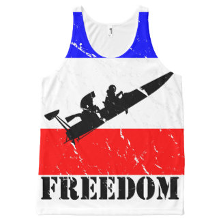 Freedom Drag-Boat All over-Tanks All-Over-Print Tank Top