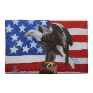 Freedom Eagle aceo Travel Accessories Bag