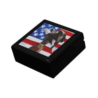 Freedom Eagle aceo Gift Box