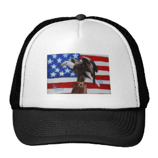 Freedom Eagle aceo Hat