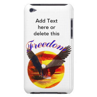 Freedom Eagle Barely There iPod Covers