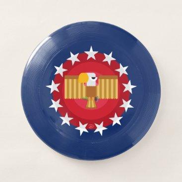 USA Themed Freedom Eagle (Blue) -Frisbee Wham-O Frisbee