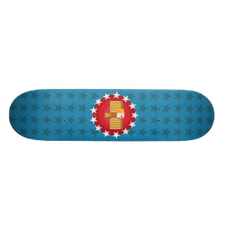 Freedom Eagle (Blue) - Skateboard Deck