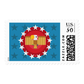 Freedom Eagle (Blue) - Stamp