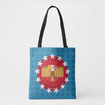 USA Themed Freedom Eagle (Blue) - Tote Bag