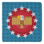 Freedom Eagle (Blue) - Trivet