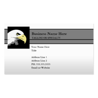 freedom eagle business card template