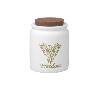 FREEDOM EAGLE candy jar