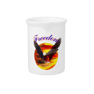 Freedom Eagle Drink Pitcher